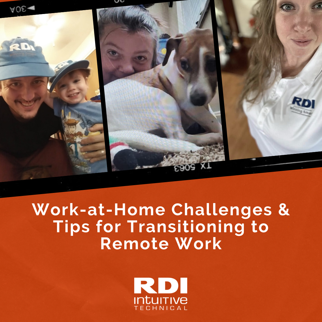 Work-at-home Challenges and tips for transitioning to remote work